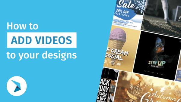 Cara menambahkan video ke desain Anda